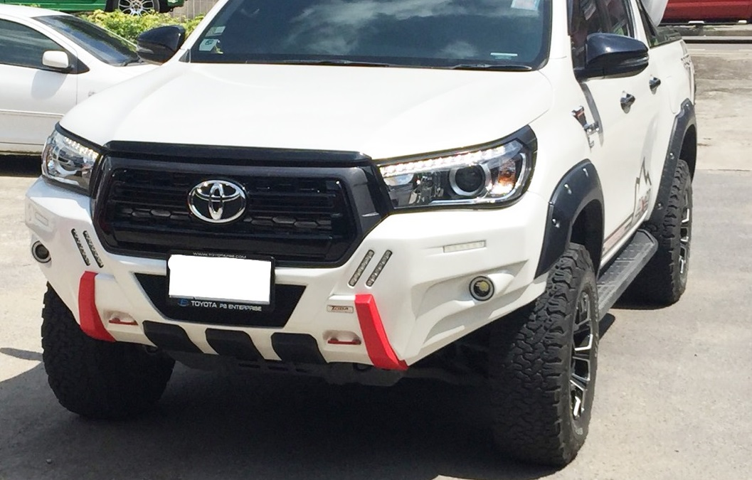 New Repter for Toyota hilux Revo Rocco 2018