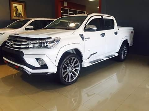 Thailand's Top Exporter of New hilux Hilux REVO