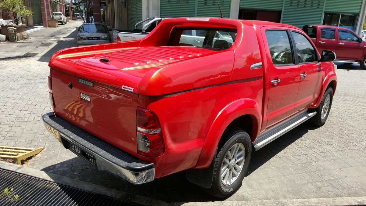 Tonneau Cover Or Superlid Toyota Hilux Revo Export 2019